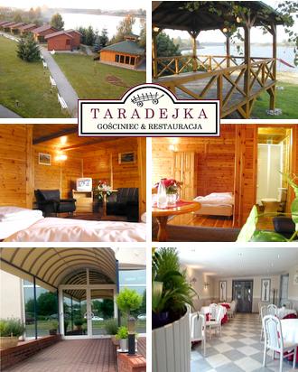 Urlaub in Polen Gasthaus Taradejka Karte